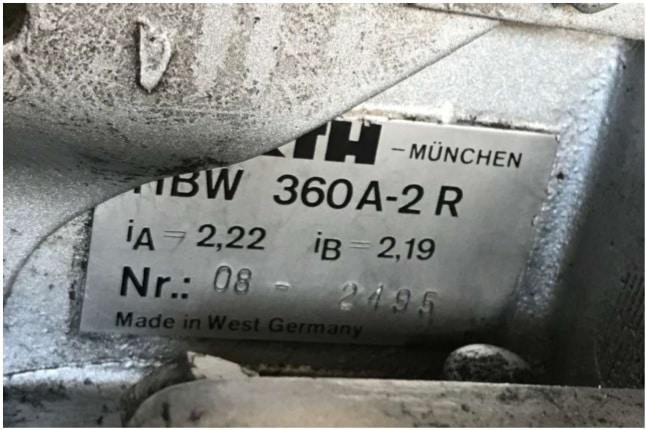 HÜRTH HBW 360A-2R