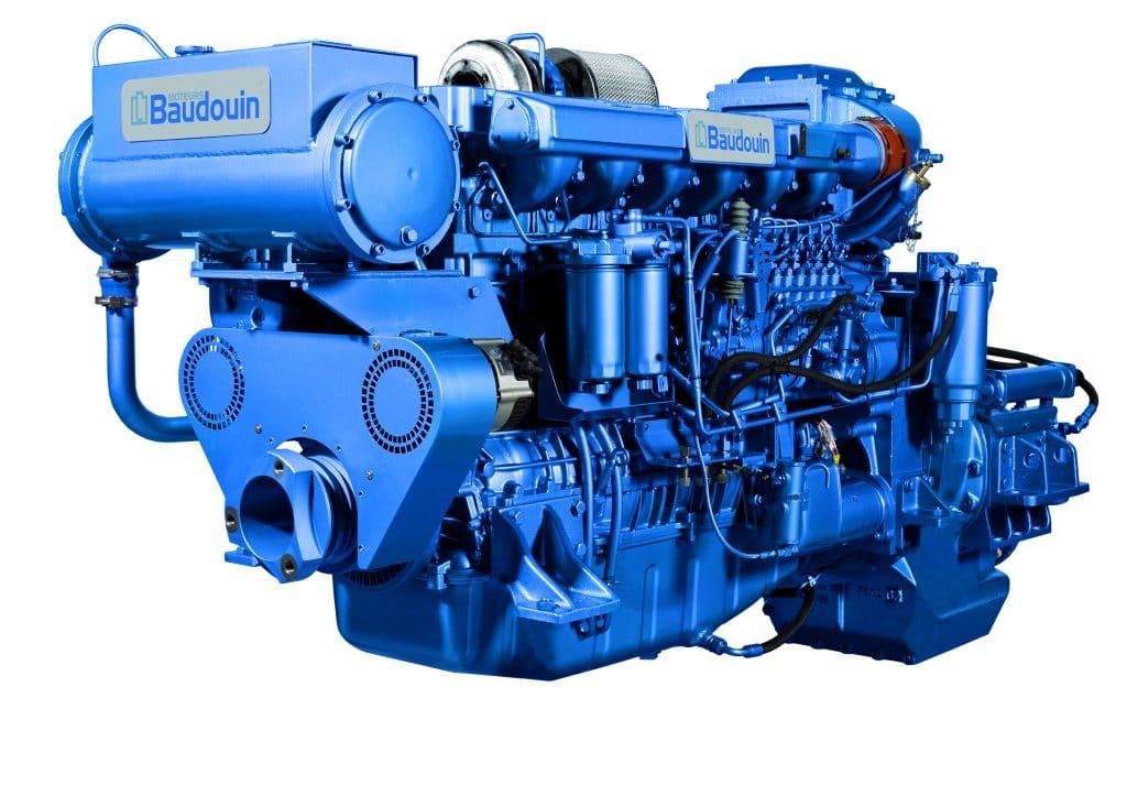 BAUDOUIN MARINE ENGINE 6 W126M