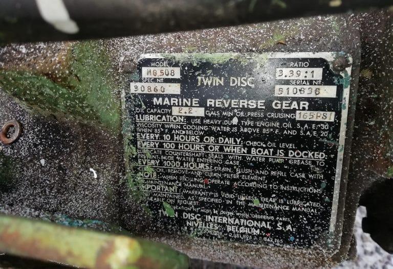 TWIN DISC MG 508 MERIVAIHDE