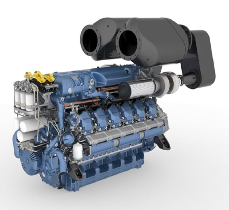 BAUDOUIN MARINE ENGINE 12 M26.3 with SCR 1