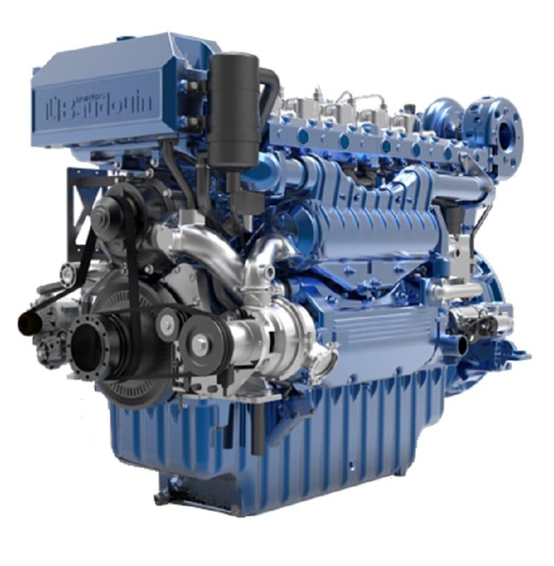 BAUDOUIN MARINE ENGINE 6 M33.2 1