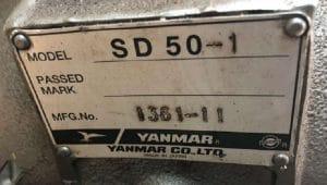 YANMAR 3 JH5E 2